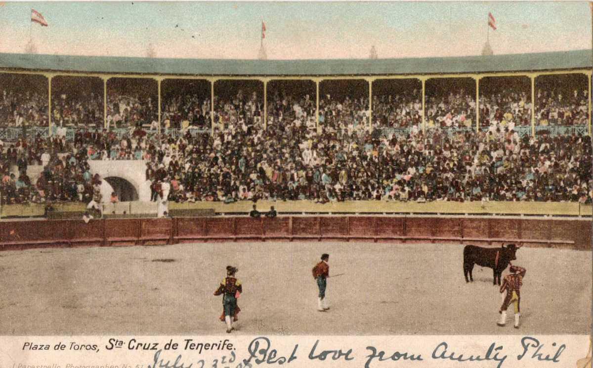 Crónica negra de una corrida de toros en Tenerife, en el año 1906