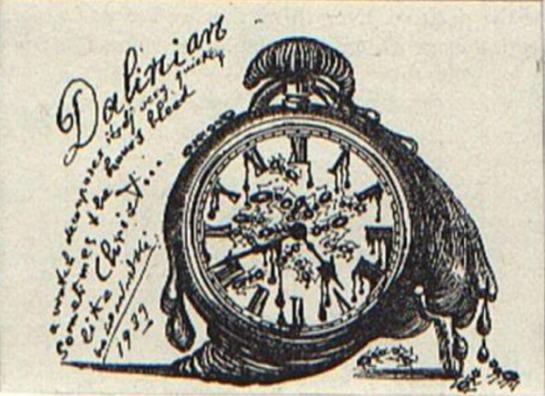 DALI_Vida secreta-Reloj con hormigas-1939