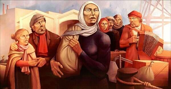 Pintura de Rodolfo Campodónico