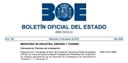 El BOE autoriza las prospecciones de petróleo en las Islas Canarias: textocompleto