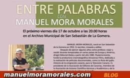 """""""Entre palabras"""": mi coloquio con el escritor DanielMaría"""