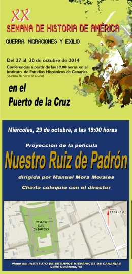 Estreno en el Puerto de la Cruz de una película canariahistórica