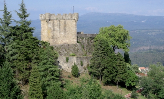 Castelo de Sobroso, Mondariz, Galicia