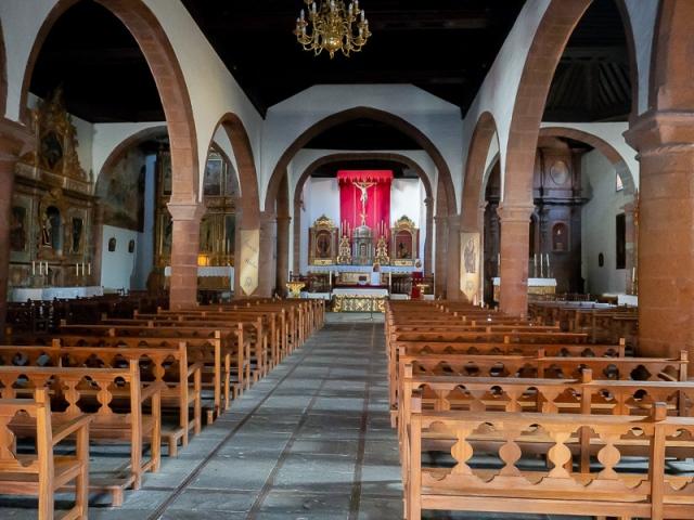 Iglesia parroquial de la Asunción, en San Sebastián de La Gomera. (Foto de Manuel Mora Morales)